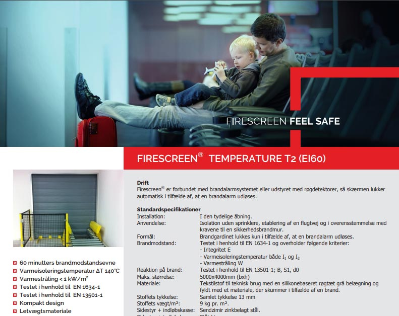 Brochure preview af Firescreen EI60 brochure